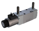 Switching valves Solenoid operated spool valve with inductive switching position monitoring WDMFA06_Z